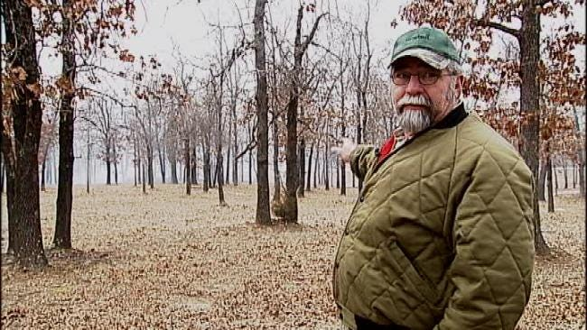 Creek County Residents Work To Protect Homes From Grass Fires