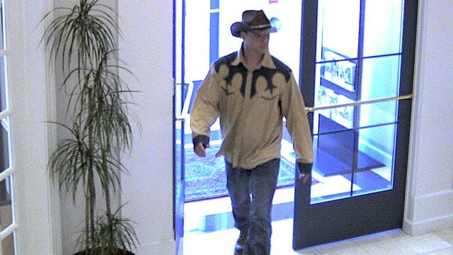Robber Dressed In Western Shirt, Cowboy Hat Holds Up South Tulsa Bank