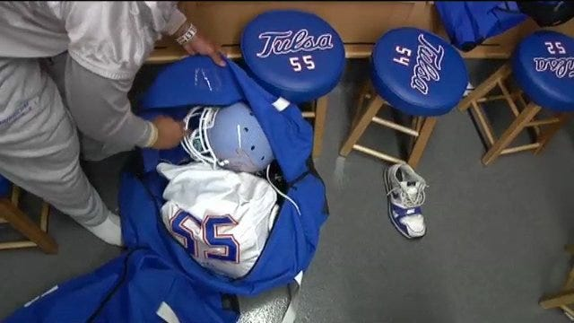 The Golden Hurricane's Man Behind The Equipment
