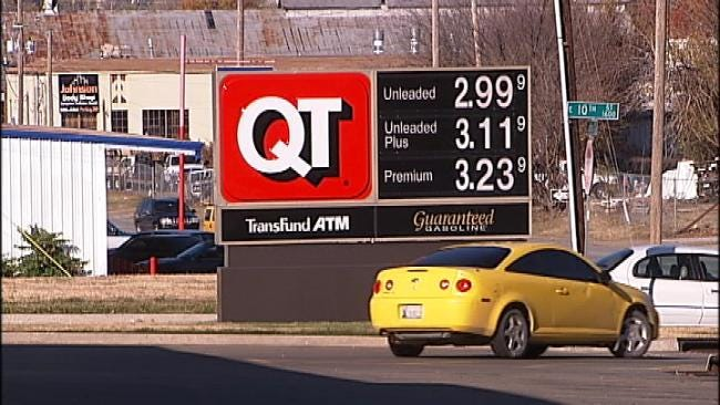 Gas Prices In Tulsa Dip Below $3 Just In Time For Busy Travel Weekend