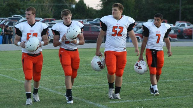 The Inspiration Of Afton: Lineman Kaleb Mackey