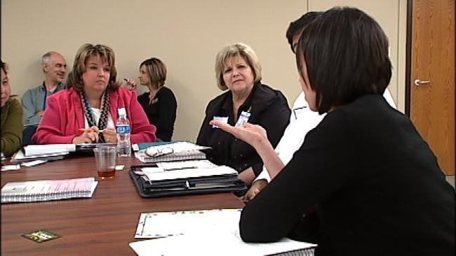 Parents, Tulsa Public School Administrators Discuss 6th Grade Shuffle