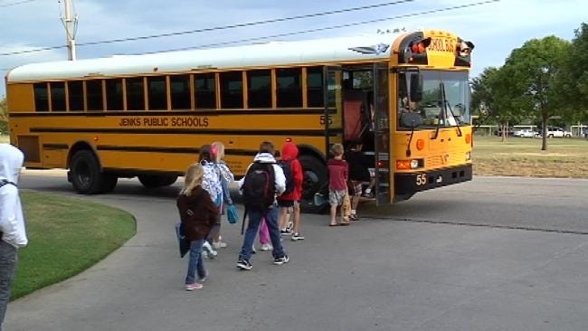 Parents' Concern Prompts Jenks To Move School Bus Stop