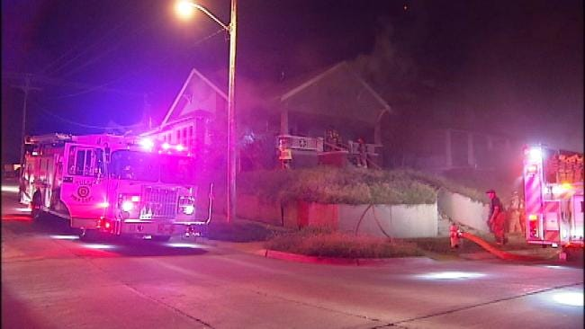 Tulsa Fire: Homeless May Have Started Fire Which Burned Home