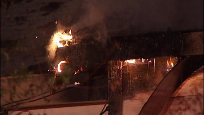 Cause Of Vacant Tulsa House Fire Under Investigation