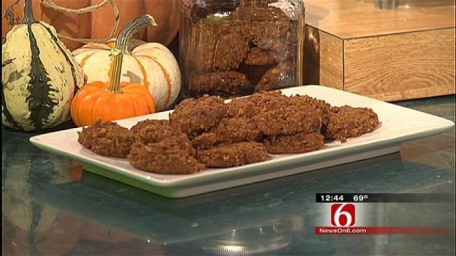 Pumpkin Pecan Cookies