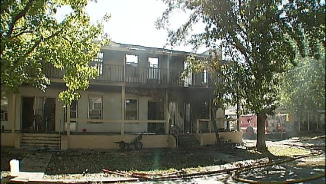 Henryetta Apartment Fire Leaves 19 Families Homeless