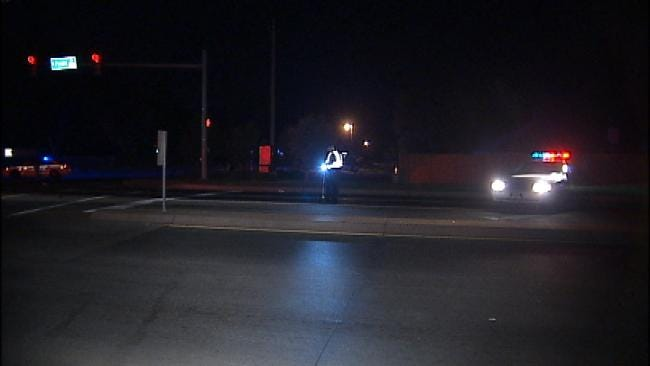 Man Badly Injured After Being Hit By Car At Tulsa Intersection