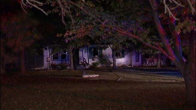 Rural Broken Arrow Home Damaged By Fire
