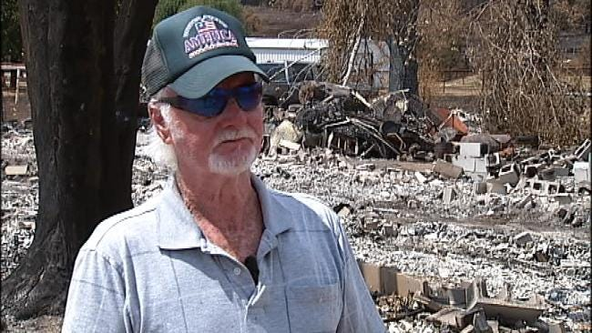 Disaster Relief Group Restores Faith For Creek County Fire Victim