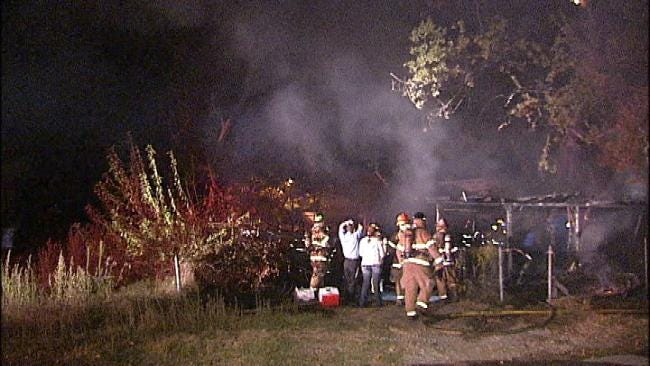 Cause Of West Tulsa House Fire Under Investigation