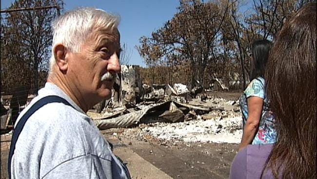 Creek County Assessor's Office Surveys Fire-Damaged Homes
