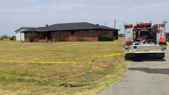 OSBI: Firefighters FInd Woman's Body In McIntosh County Home