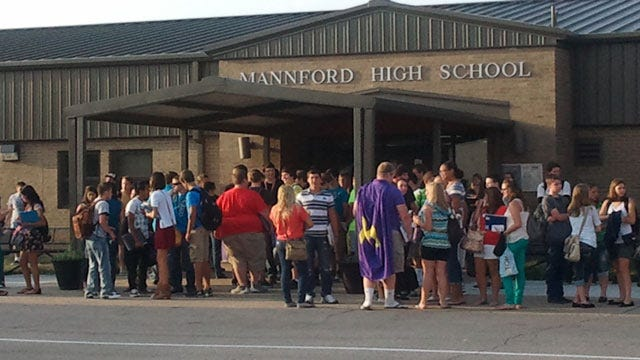 Classes Resume At Mannford Public Schools After Massive Wildfires
