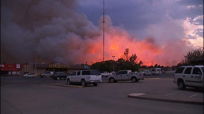 Creek County Authorities Have Persons Of Interest In Wildfires