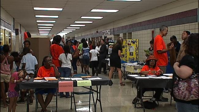 McLain High School Kicks Off New Year With Community, Political Leaders