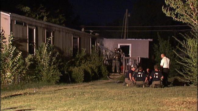 Sapulpa Mobile Home Fire Under Investigation