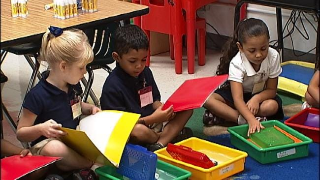 Foundation Welcomes Tulsa Students Back With Free School Supplies
