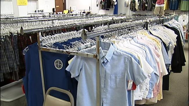 Public Donations Help Buy Uniforms Required For Tulsa Public Schools