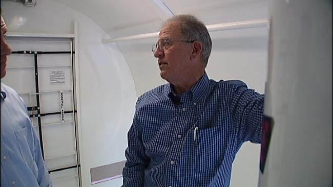 Mobile Safe Rooms Give Workers Shelter From Violent Storms