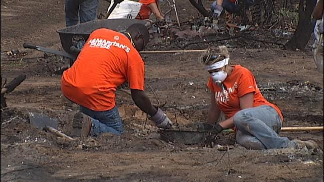Good Samaritans Come To Aid Of Creek County Wildfire Victims
