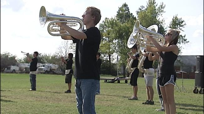Morris School Band Credited For Spotting Wildfire