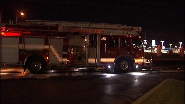 Tulsa Pickup Truck Damaged By Fire Late Sunday Night