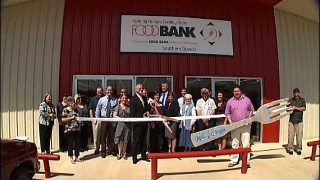 New Food Bank Opens In McAlester