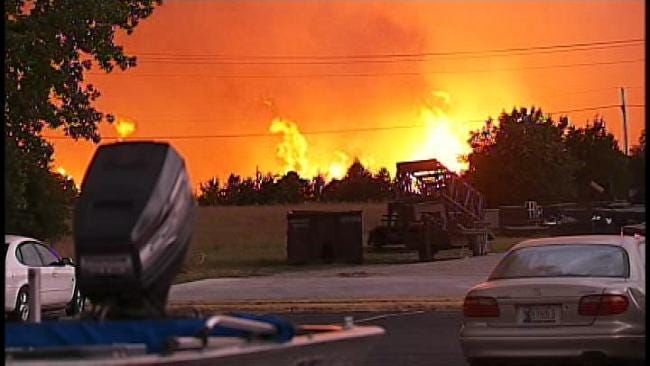 Oklahoma's Insurance Commissioner Begins To Assess Wildfire Damage