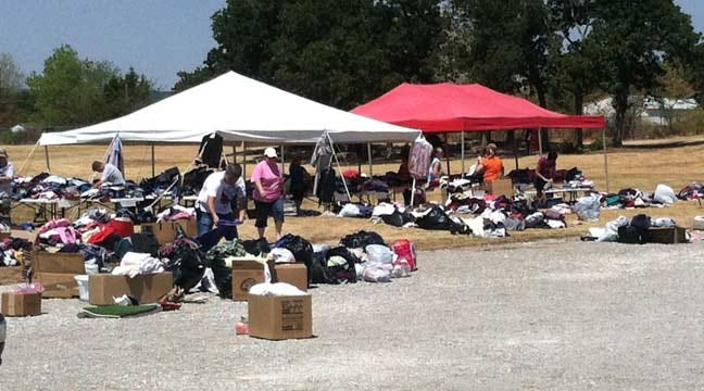 Mannford, Sand Springs Churches Become Donation Centers For Wildfire Victims