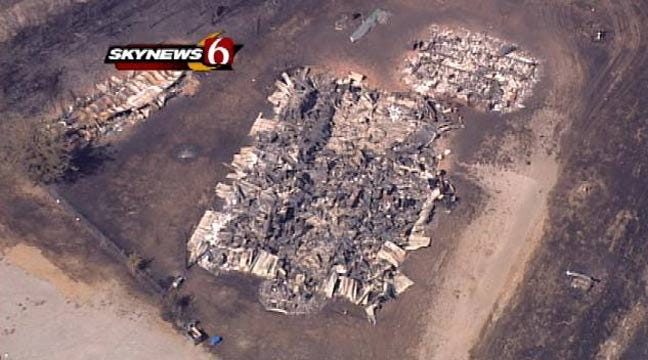 State Forestry Officials: Roughly 70 Structures Destroyed In Creek County