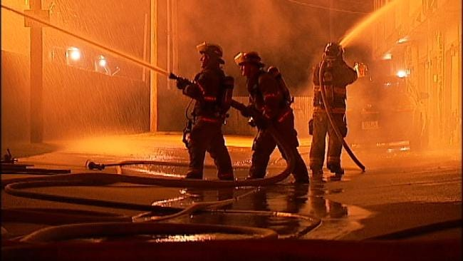 Fire Destroys Several Businesses In Tulsa Strip Mall