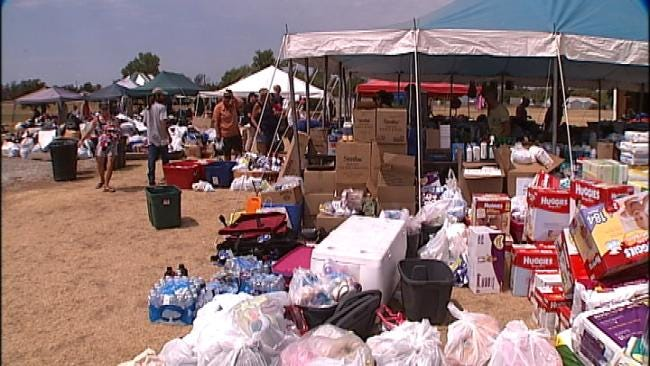 Multi-Agency Resource Centers Remain Open For Oklahoma Fire Victims