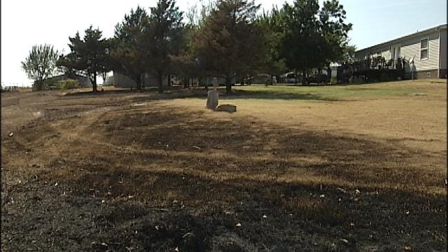 Green Country Evangelist Believes Cross Shielded His Home From Fire