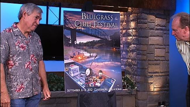 Poster For 2012 Claremore Bluegrass And Chili Festival Unveiled