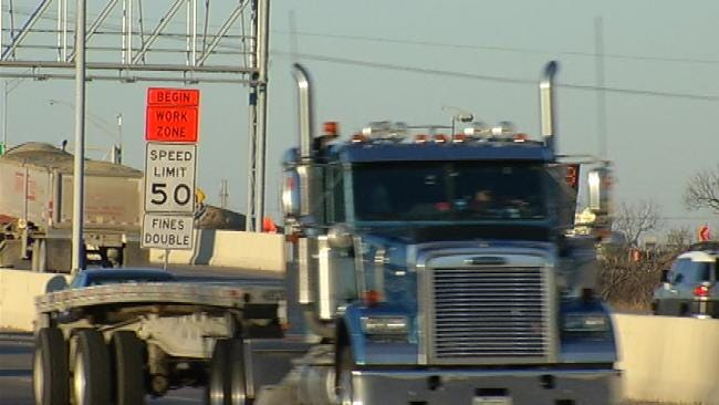 Tulsa Police Crack Down On Speeders In Construction Zones