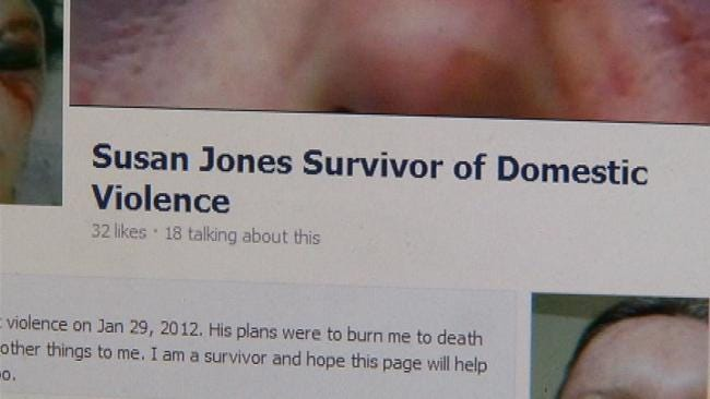 Sapulpa Domestic Violence Victim Tells Story Of Survival