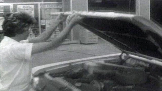 From The KOTV Vault: Tulsa Welcomes Female Gas Station Attendants