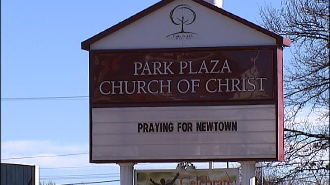 Tulsa Christians Gather To Support Newtown, Connecticut