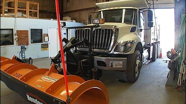 City Of Tulsa Ready If Snow Hits For Holidays