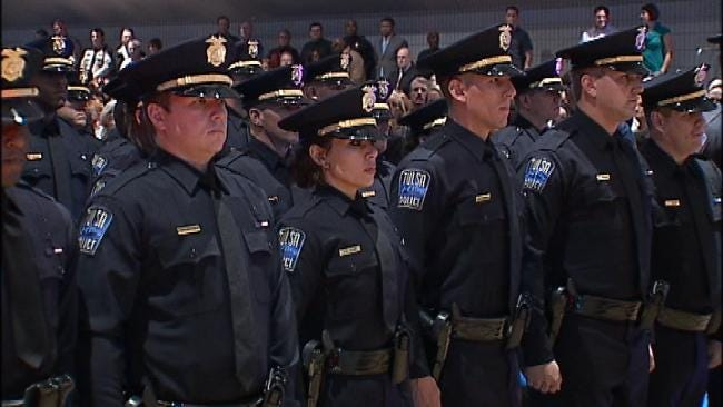New Tulsa Police Officers Ready To Serve