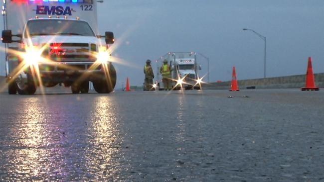 Freezing Rain Caused Dangerous Conditions On NE Oklahoma Roads