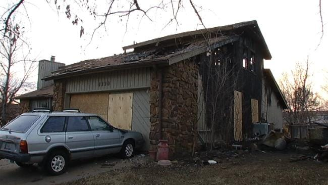 Owasso Family Talks About Christmas Eve Fire That Started In Neighbor's Chimney