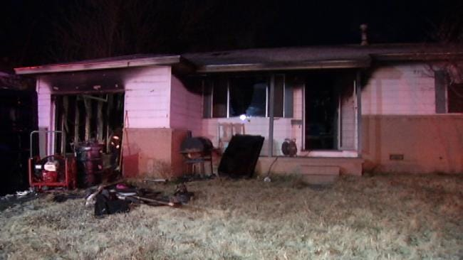 Early Morning Tulsa House Fire Ruled Accidental