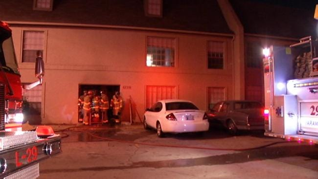 Investigators Seek Person Of Interest After Fire At Tulsa Apartment Complex