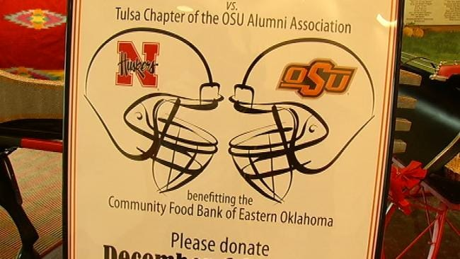 Tulsa-Area Alumni Groups Raise Enough For Food Bank To Feed 30,000