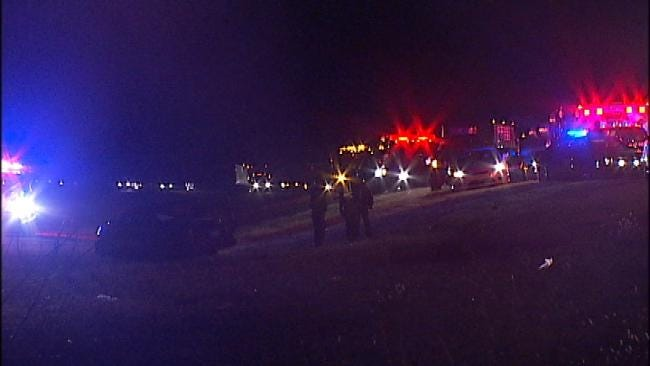 One Killed In Seven-Car Pile Up On Will Rogers Turnpike