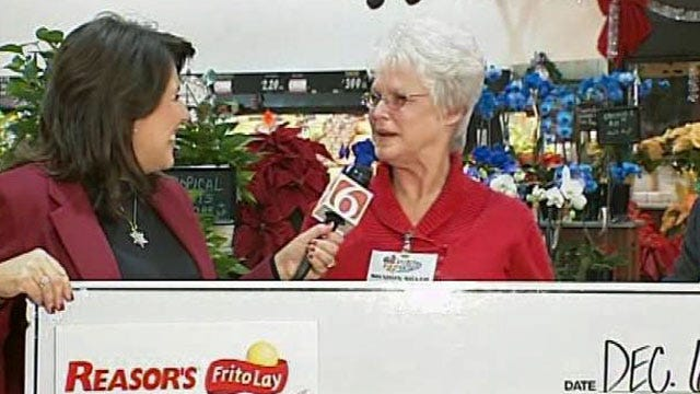 Bartlesville Woman Wins Year Of Free Groceries At Reasor's
