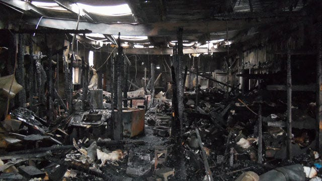 Fire Destroys Artist's Foundry Near Pawhuska
