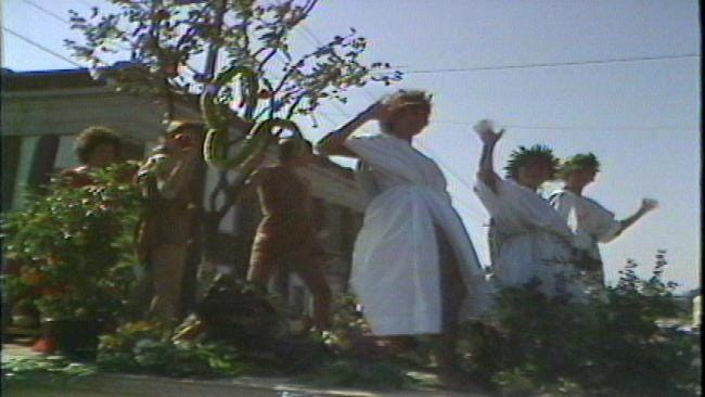 From The KOTV Vault: Tulsans Gather For 1980 Raft Race Parade